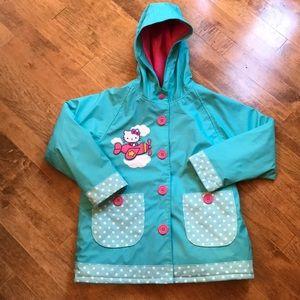 Western Chief Hello Kitty coat raincoat 6x jacket